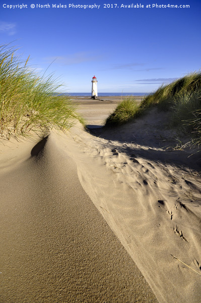 Talacre lighthouse  Print by North Wales Photography