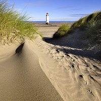 Buy canvas prints of Talacre lighthouse  by North Wales Photography