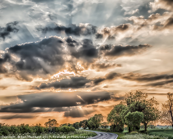 Highway to Heaven Canvas print by Iain Merchant