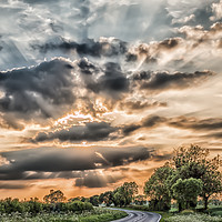 Buy canvas prints of Highway to Heaven by Iain Merchant