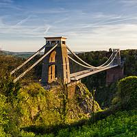 Buy canvas prints of Clifton Suspension Bridge by Edward Kilmartin