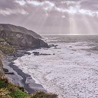 Buy canvas prints of Devon Coastline by Edward Kilmartin