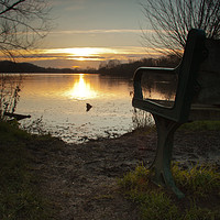 Buy canvas prints of A place to reflect by Richard Jones
