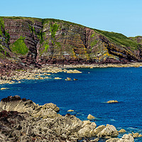 Buy canvas prints of Stackpole Quay by Mal Spain