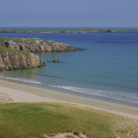 Buy canvas prints of A Durness Beach by David Wilson