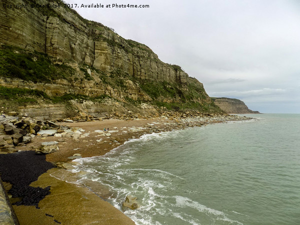 The Cliffs at Rock a Nore Hastings Canvas print by Lee Sulsh