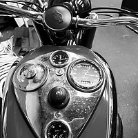 Buy canvas prints of Ariel motorbike (Not for canvas wrap) by Lee Sulsh