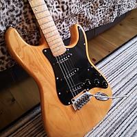 Buy canvas prints of Fender Stratocaster Lite Ash by Lee Sulsh