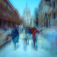 Buy canvas prints of Visions of London by Martin Griffett