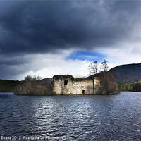 Buy canvas prints of Loch an Eilein by Catherine Evans