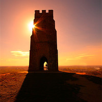 Buy canvas prints of Glastonbury Tor by Simon Drew