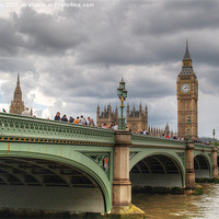 Buy canvas prints of Westminster bridge by Chris Day