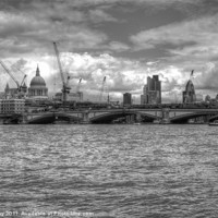 Buy canvas prints of City of London skyline by Chris Day