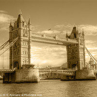 Buy canvas prints of Tower Bridge by Chris Day