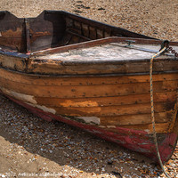 Buy canvas prints of Rowing Boat by Chris Day
