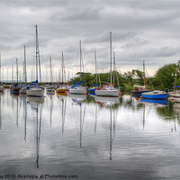Buy canvas prints of Christchurch Harbour by Chris Day