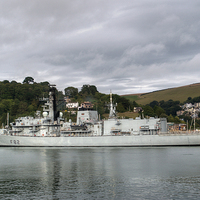 Buy canvas prints of HMS Somerset by Chris Day