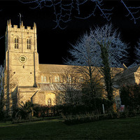 Buy canvas prints of Christchurch Priory by Chris Day