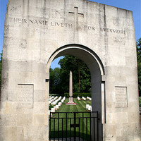Buy canvas prints of Anzac Cemetery in Harefield Churchyard by Chris Day