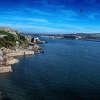 Buy canvas prints of Plymouth Seafront by Chris Day