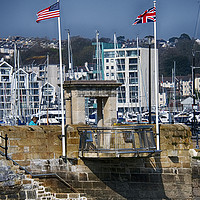 Buy canvas prints of Mayflower Steps by Chris Day