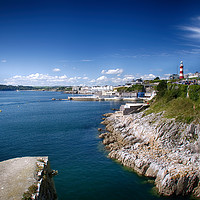 Buy canvas prints of Plymouth Foreshore by Chris Day