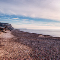 Buy canvas prints of Hengistbury Head and Beach by Chris Day