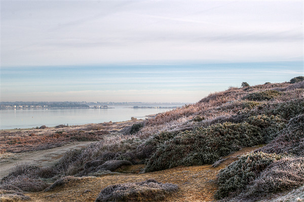 Towards Mudeford Canvas print by Chris Day