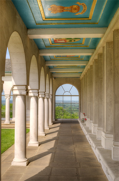 Air Forces Memorial Canvas Print by Chris Day
