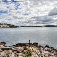 Buy canvas prints of View towards the Plym by Chris Day
