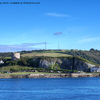 Buy canvas prints of Mount Batten by Chris Day