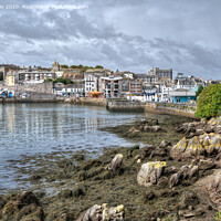 Buy canvas prints of The Entrance to Sutton Harbour by Chris Day
