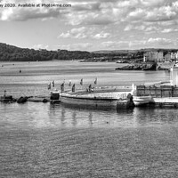 Buy canvas prints of Tinside Lido and Foreshore by Chris Day
