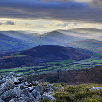 Buy canvas prints of Gateway to the Brecon Beacons. by Philip Veale