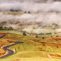 Buy canvas prints of Hope Valley by Chantal Cooper