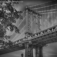 Buy canvas prints of Manhattan Bridge NYC by Kevin Ford