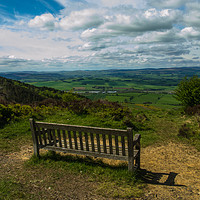 Buy canvas prints of A seat with a view by mark james