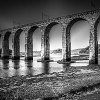 Buy canvas prints of The Royal Border Bridge by mark james