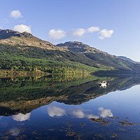 Buy canvas prints of Loch Long Reflections by mark james