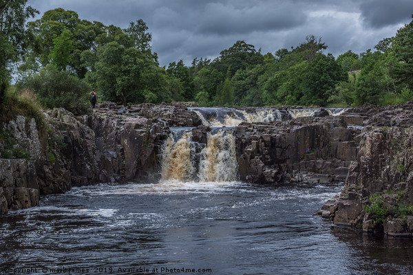 Low Force Waterfalls Canvas print by mark james