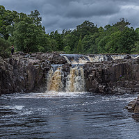 Buy canvas prints of Low Force Waterfalls by mark james