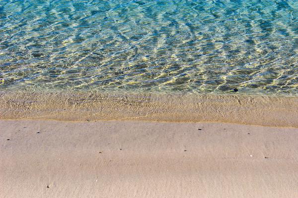Puerto Pollensa Seashore Canvas print by Lorraine Terry