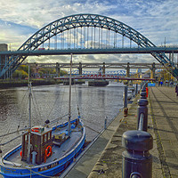Buy canvas prints of Today at the Quayside by antony atkinson
