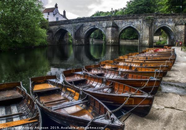 Durham Boating Canvas print by Antony Atkinson