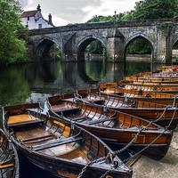 Buy canvas prints of Durham Boating by Antony Atkinson