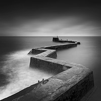 Buy canvas prints of St Monans Pier, St Monans, Fife, Scotland. by Gary Alexander