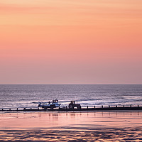 Buy canvas prints of Early Start at Cromer by Jim Key