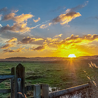 Buy canvas prints of Cley Marshes  Norfolk by Jim Key