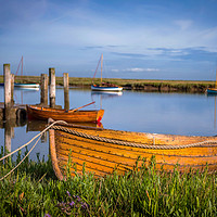 Buy canvas prints of Burnham Overy Staithe Norfolk by Jim Key