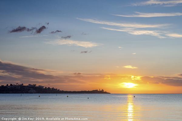 Sunrise at Puerto Pollensa Canvas print by Jim Key